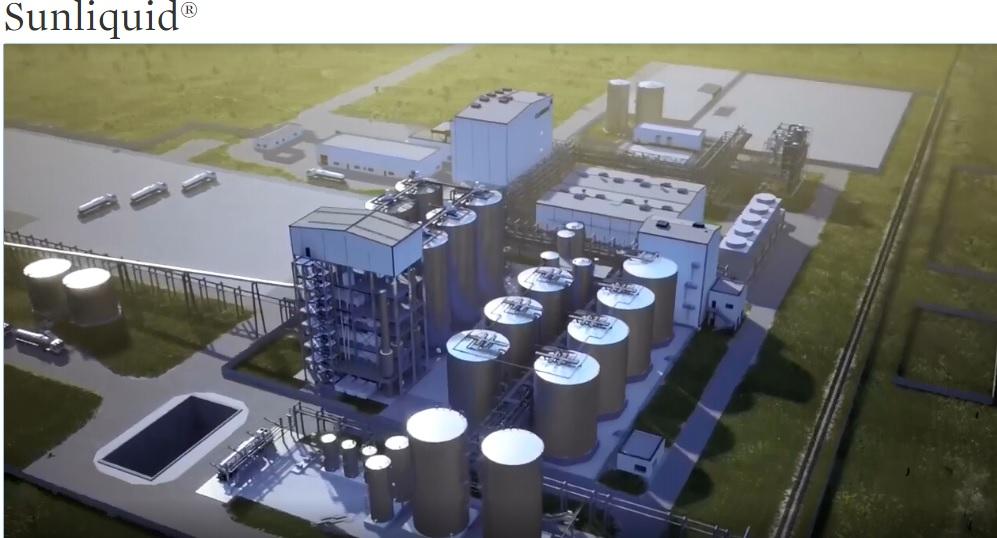 Завод ферментативнойй переработки целлюлозы древесины в спирт