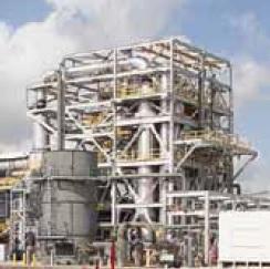 Очистка синтез-газа и рекуперация тепловой энергии
