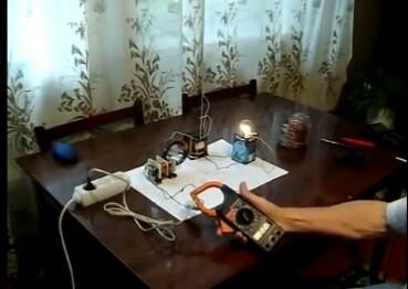 Сверхэкономный трансформатор. Потребление 0