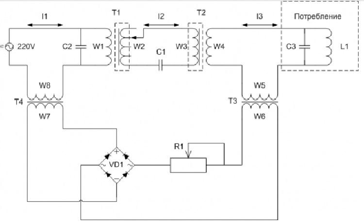 Схема резонансного трансформатора Александра Андреева для отопления дома и дачи