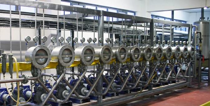 Гидроциклонная установка для промывания крахмала от глютена