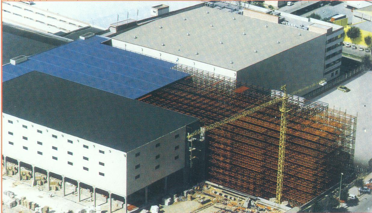 Поэтапное строительство и расширение самонесущего склада