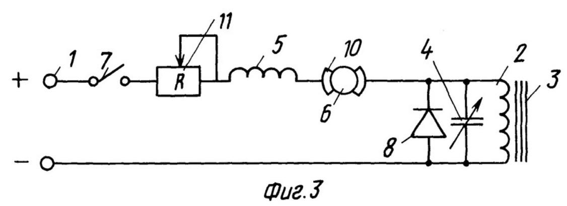 принципиальная электрическая схема электропривода постоянного тока малой мощности (напряжение питания до 100-120 вольт) - электрокары, электромобили, с заявленным усилителем магнитного потока