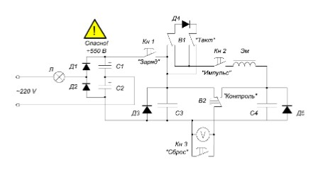 Модель силовой цепи