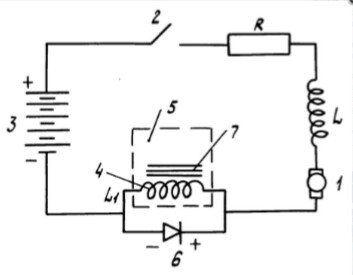 электропривод постоянного тока малой мощности изобретателя Гусева П.Г