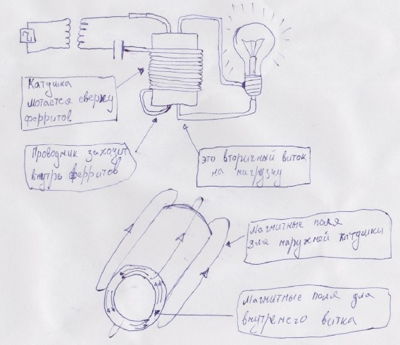 Схема по видео Капанадзе