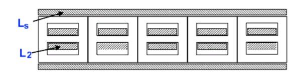 Усиление тока в каскаде асимметричных трансформаторов