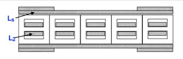 Усилитель тока на каскаде из асимметричных трансформаторов