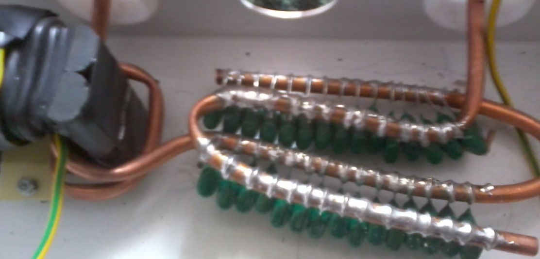 Составные конденсаторы сверхединичного генератора от Мустафы